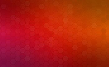 Red hexagon background